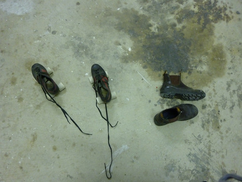 skates on