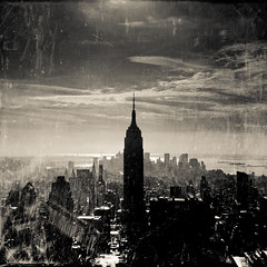 living in sin city (stocks photography.) Tags: urban blackandwhite bw newyork skyscape cityscape manhattan stocks empirestatebuilding empirestate hdr sincity stocksphotography michaelmarsh shotfromtherock livinginsincity theworldsbestskyline