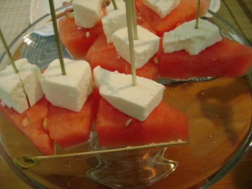 Watermelon + Macedonian Feta Cheese by Ayala Moriel