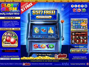 Sloto Cash Casino Home