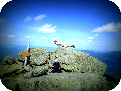"Loop ""planking"" Mt. Madison"