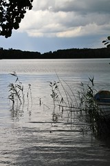 Afternoon lake (tiinamanty) Tags: lake canon rowingboat tiinamanty