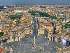 Vatican Square (rjh.designs) Tags: italy vatican cityscape aerialview aerial