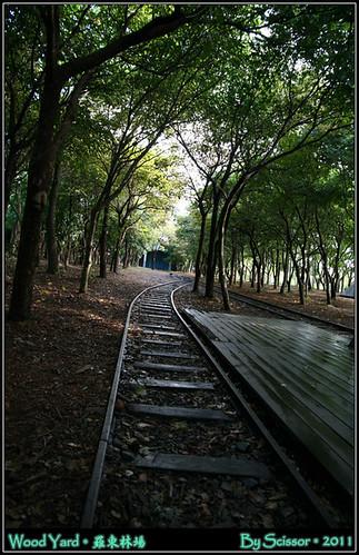 微濕的鐵軌
