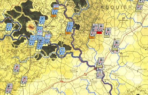 Stonewall Jackson's Way - Lee vs Pope Turn 3