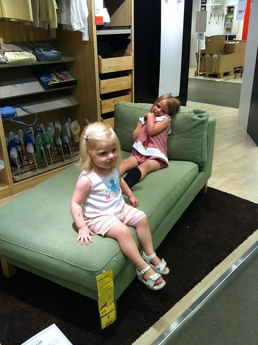 Lounging at IKEA