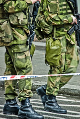 Aftermath Norway massacre (Maron) Tags: oslo norway massacre military guards supermarion 220711 marionnesje 230711