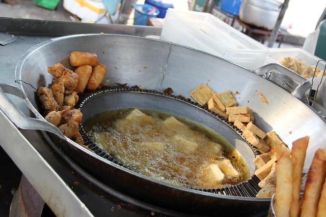 Thai vegetarian snacks