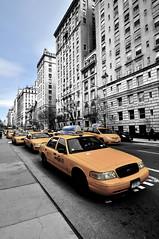 NY Taxi (A. Vandalay) Tags: newyork architecture delete5 delete2 delete6 taxi cityscapes save3 delete3 save7 save8 delete delete4 save save2 save9 save4 save5 save10 save6 selectivecolor save11 savedbythehotboxgroup