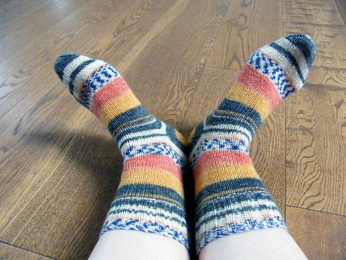 Afterthought Heel Experiment Socks