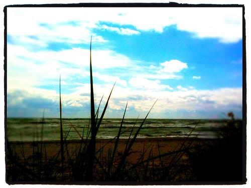 The ocean outside Skillinge