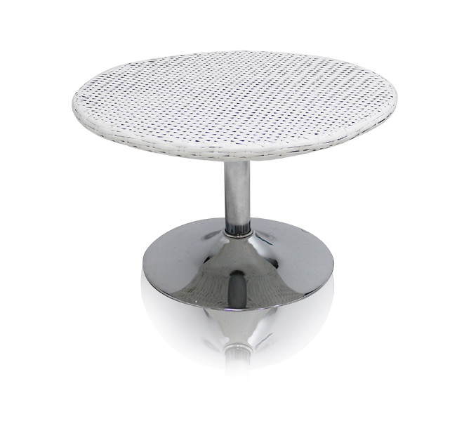 modern outdoor cetertable white new york