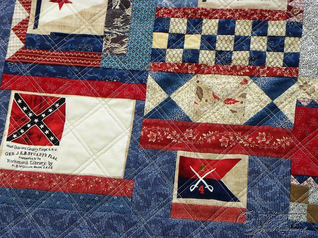 DSCN2107 Gettysburg Battle Flag quilt