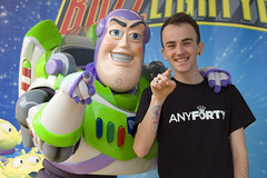 Me and B Lightyear in Disney Land Paris (Phil Kiel) Tags: disneylandparis anyforty