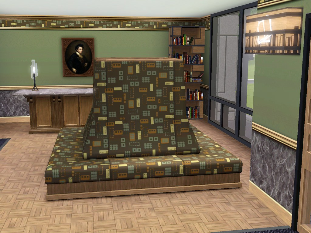 Sims 3 Town Life Stuff Pack Library Bench