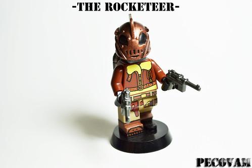 Custom minifig The Rocketeer-2