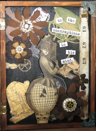 His Loss - Steampunk Collage 006