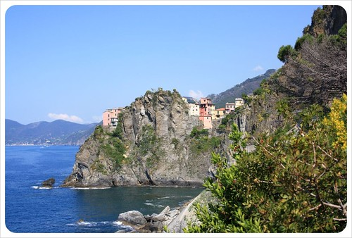 Manarola from via dell'amore