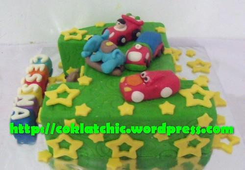 Cake Angka 1 Cessna Jual Kue Ulang Tahun