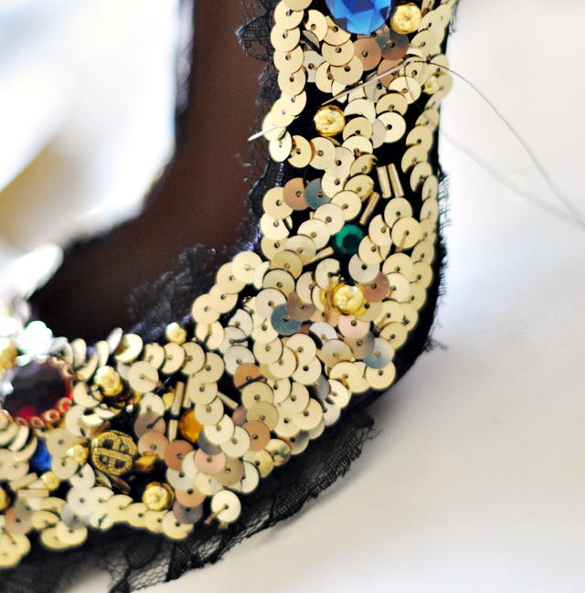 Dolce and Gabbana Embellished Pumps-Shoes-DIY-15