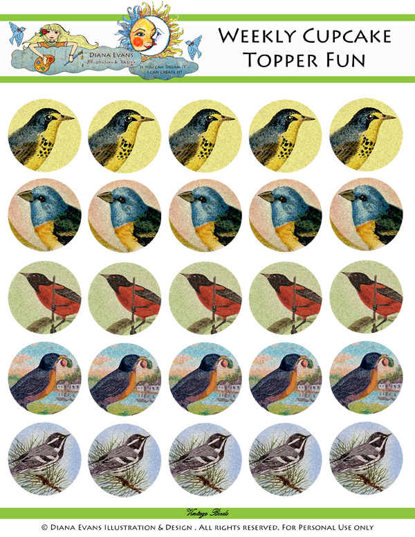 vintage birds -blog