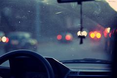 Chasing cars. (mariannaberno) Tags: car lights nikon traffic bokeh d3100