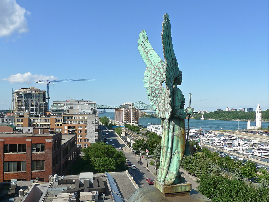 Copyright Photo: Facing Montreal Harbor - Left Angel by Montreal Photo Daily, on Flickr