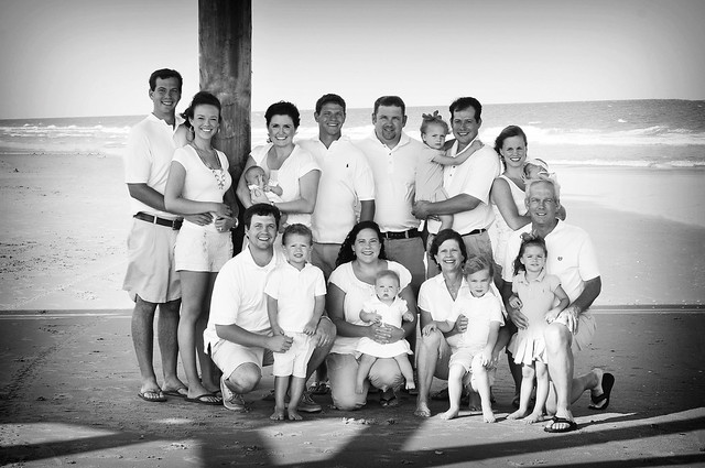 entire fam pic edited bw