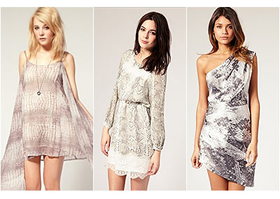 ASOS Dresses for the New Season - Snake, Sequins, Jewels