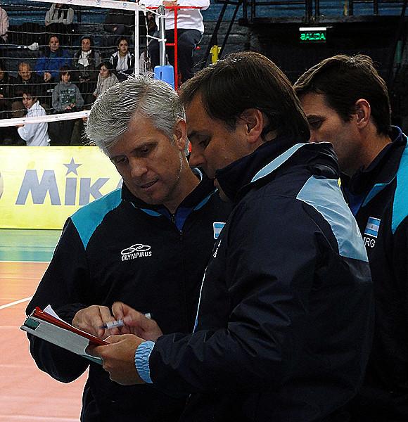 Fabián Muraco y Javier Weber