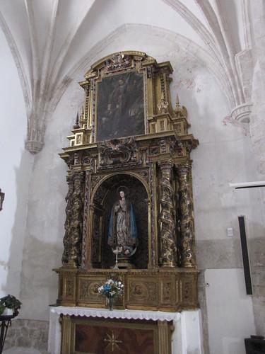 Iglesia de San Juan Evangelista - Retablo lateral