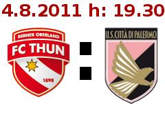 Thun VS Palermo locandina bill
