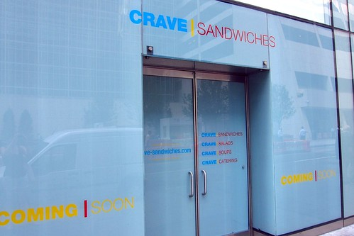 Crave Sandwiches on 43rd St
