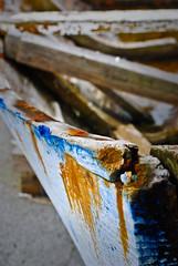 Old Blue Boat (Sue Ann Simon) Tags: blue japan boat nikon rust ngc 日本 okinawa 沖縄 石垣 ishigaki caribbeanphotographer nikond3000 trinidadphotographer ttphotographer trinidadianphotographer trinidadianportraitphotographer