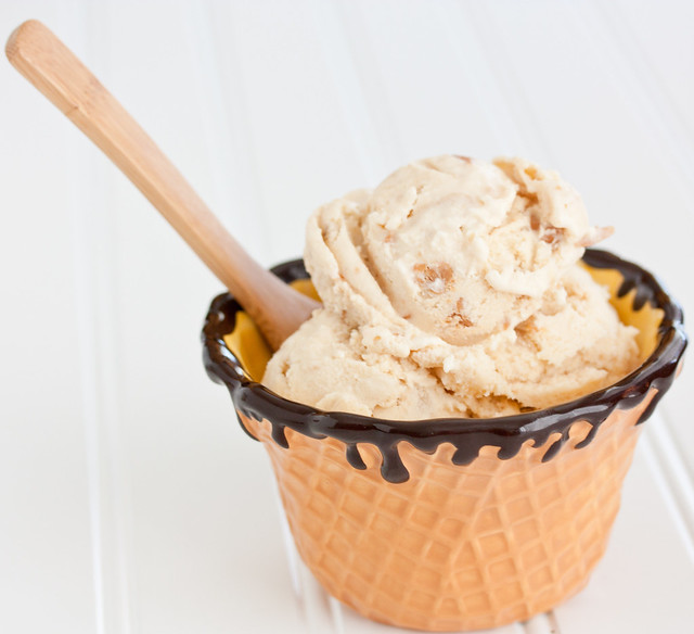 Peanut Butter Banana Chunk Ice Cream