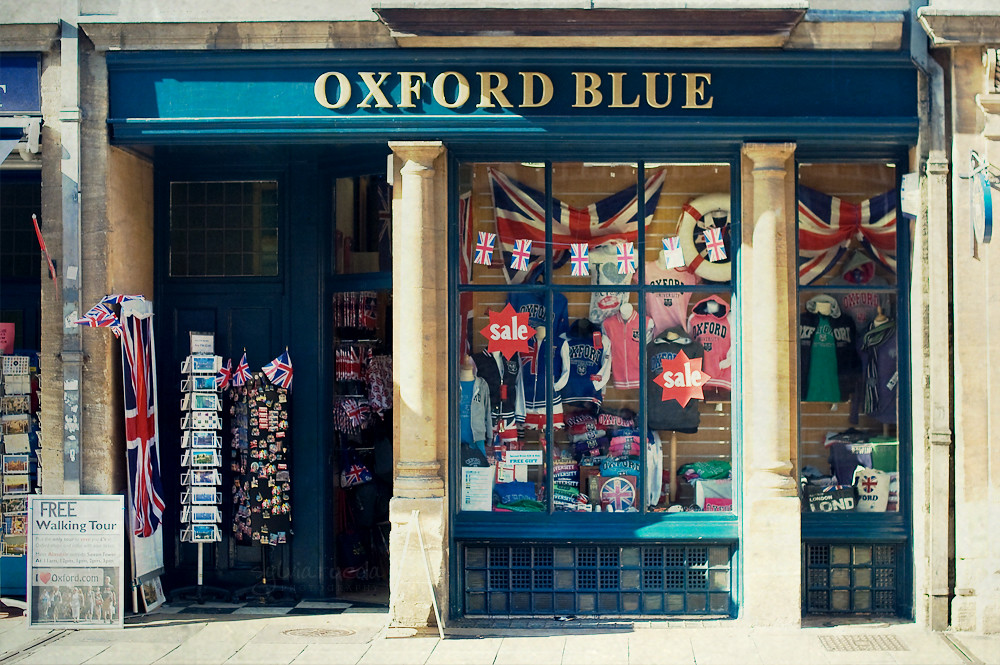 Oxford shops