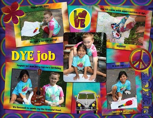 Dye Job {Scrap}