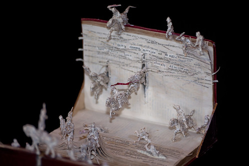 Mysterious paper sculptures