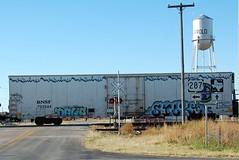 DABIA SILK on BNSF 793544 20101119 Harrold TX (rmccallay) Tags: silk graffit dabia