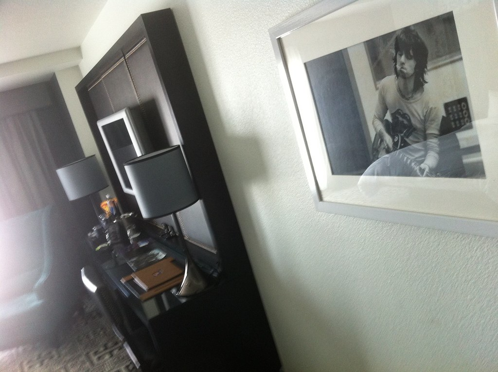 hard rock vegas, the keith richards room