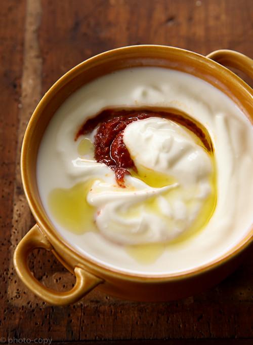 yoghurt harissa