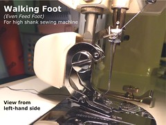 03 - Walking Foot (High Shank)