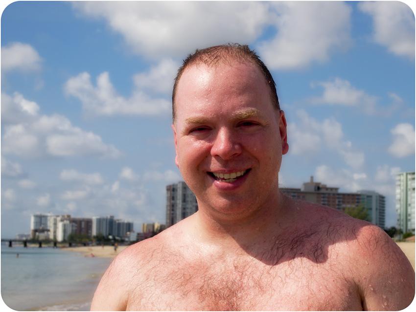 Jean-Pierre à la plage