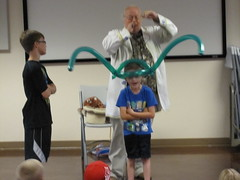 Prof. B Looney (Pioneer Library System) Tags: summer children reading library balloon looney blanchard stephensmith