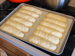 Amber Ale Hot Dog Buns