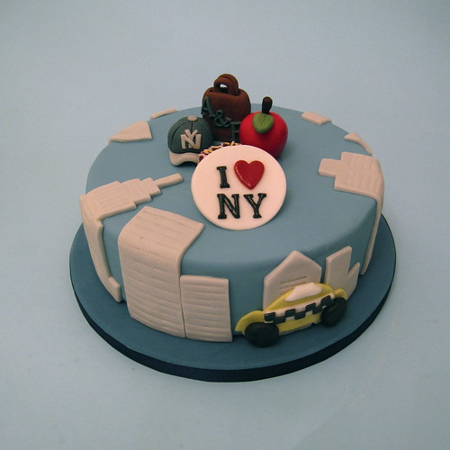 New York Birthday Cake