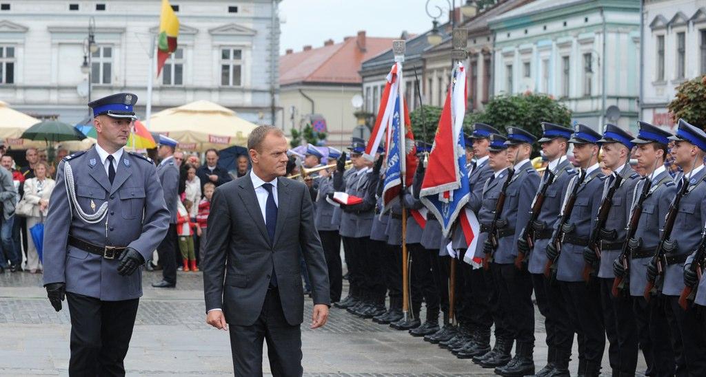 Premier na swiecie malopolskiej policji