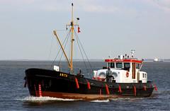 ANITA (Wolfgang.W. ) Tags: boat ship vessel anita schiff elbe tanker cuxhaven leichter bunkerbarge bunkerboot imo6605694 glüsingtransport