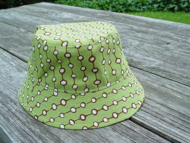 reversible bucket hat, view 3