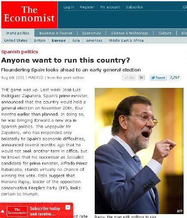 Economist Rajoy